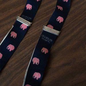Delirium Tremens Pink Elephant suspenders